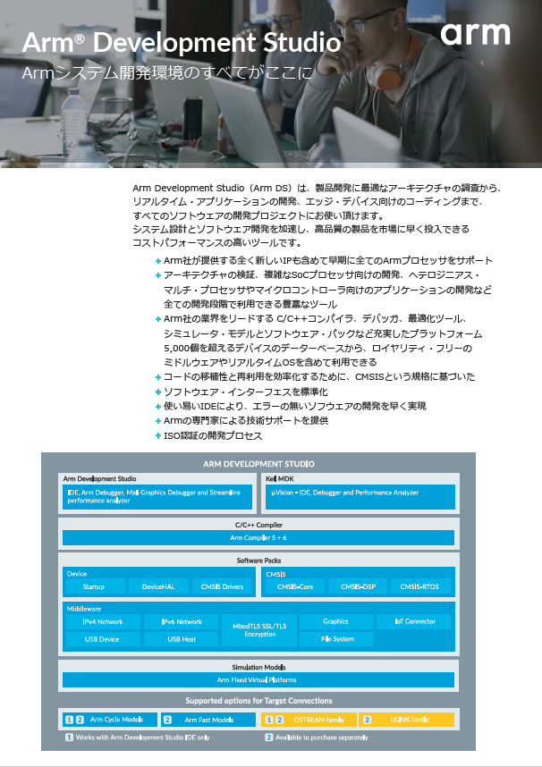 Arm Developments Studio 表紙